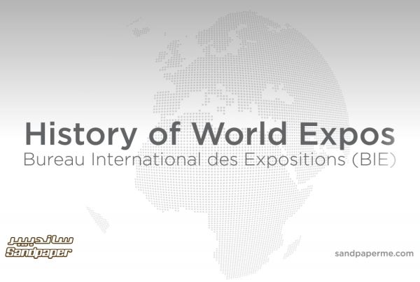 Animated history of World Expo's