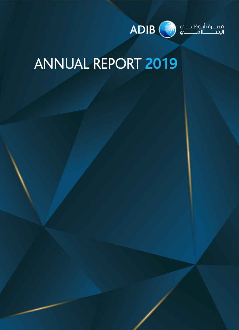 ADIB Bank Annual Report design and content writing